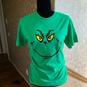 The grinch Christmas Dark Green T-shirt unisex
